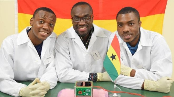 Editorial: Celebrating Ghana's Satellite-Building Students