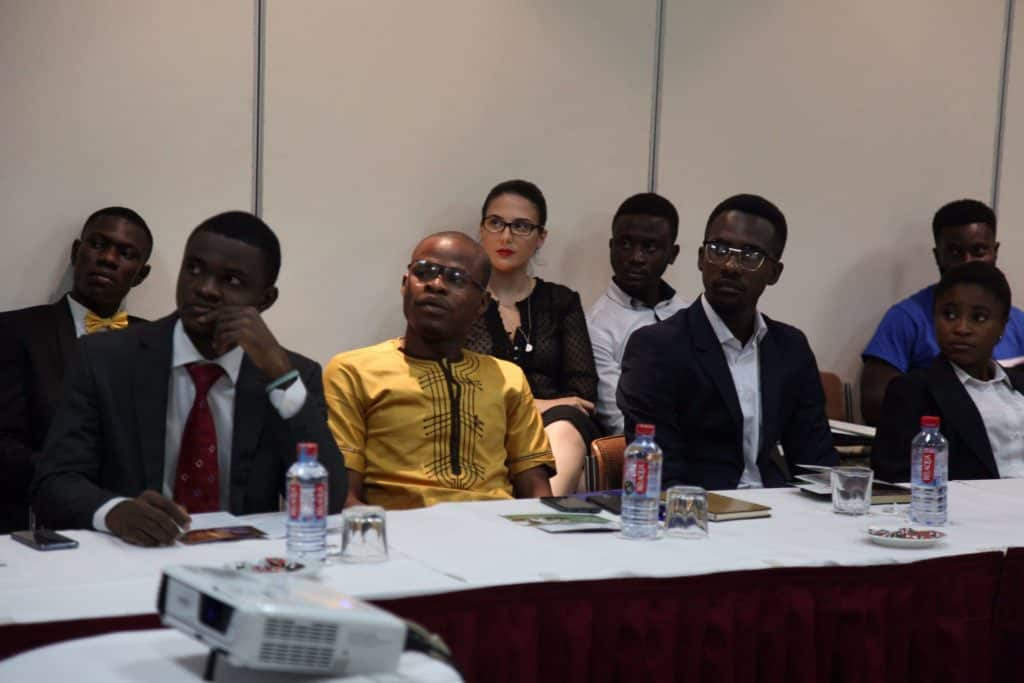 Participants at the Future Africa 30-Under-30 Forum in Accra, Ghana