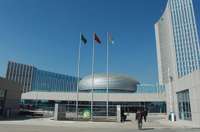 African Union headquarters, courtesy of China Source: http://www.zambianobserver.com